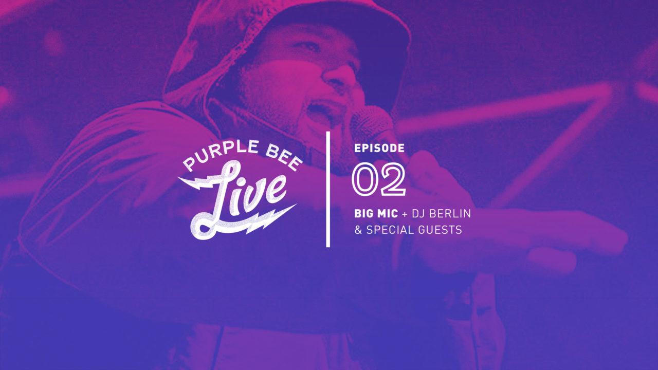 Purple Bee Live Episode #2